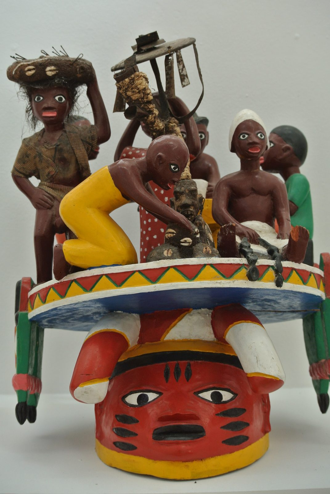 Kifouli Dossou - Masque Glélé. Copyright photo : Claire Nini