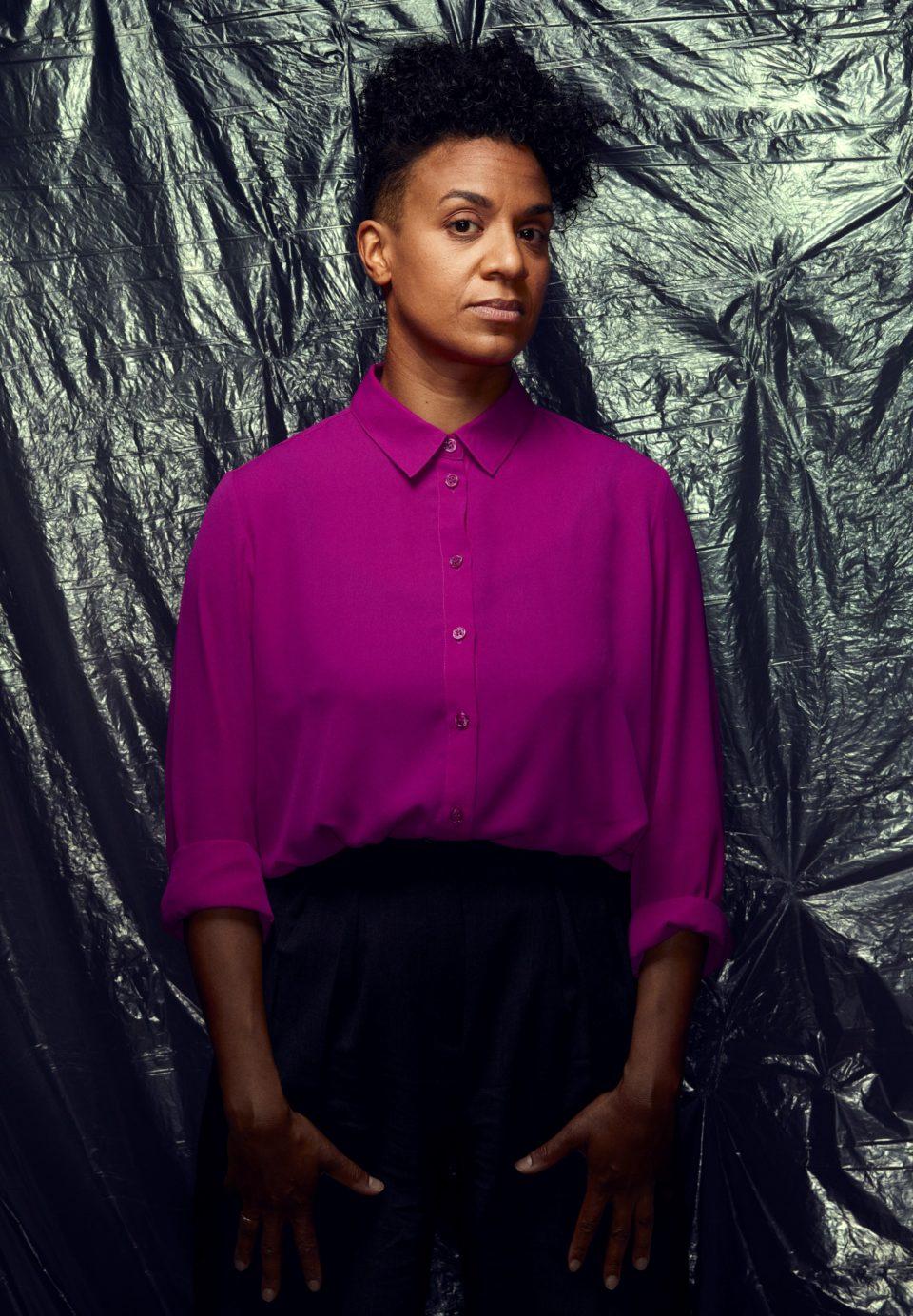 Portrait Kapwani Kiwanga. Photo © Manuel Braun